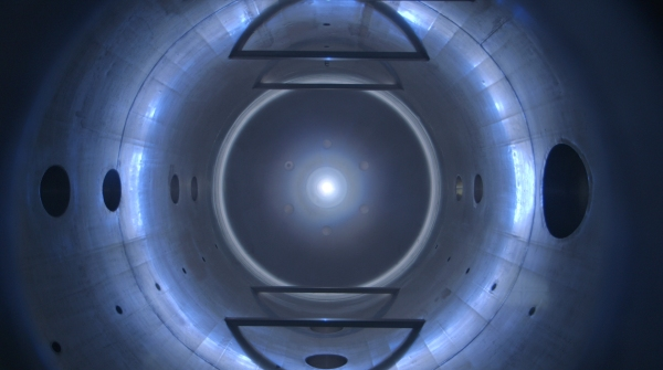 Ad Astra's VASIMR plasma engine being tested in a vacuum chamber. It's amazing to think that this technology is real.